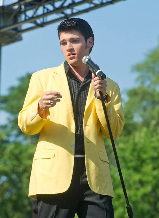 Elvis Tribute Artist Jake Slater